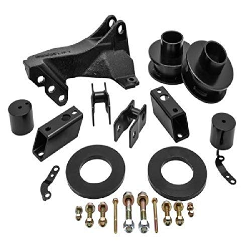 """Readylift 66-2726 2.5"""" Leveling Kit with Track Bar Relocation Bracket for 2011-2020 Ford Super Duty F250 and F350 4WD trucks (Automotive)"""