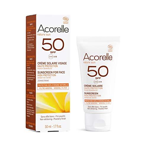 Acorelle Crema Solar Facial SPF50, 50 ml
