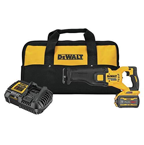 DEWALT FLEXVOLT 60V MAX Reciprocating Saw, Cordless Kit (DCS389X1)