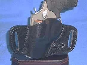 S&W 36 37 60 317 AIRLITE 650 38 Charter ARMS Pathfinder, Undercover, S&W Bodyguard .38, 49, 442-1, AIRWEIGHT, 638-2, 640, 642-1 Lady Smith 649 940 Small of Back SOB Concealed Carry Leather Holster