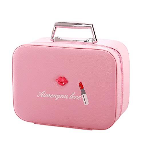 Boîte de Rangement Multifonction à Fonction Multi-Couche (Color : Pink, Taille : Large)