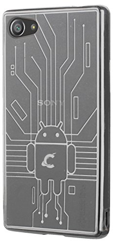 Cruzerlite Bugdroid Schlussfall für Sony Xperia Z5 Compact klar