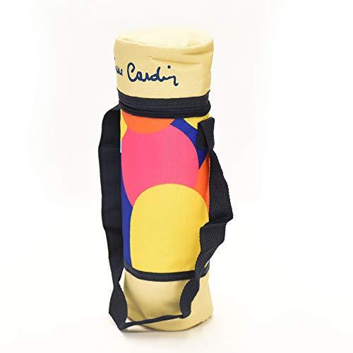Pierre Cardin L.Medusa B. P.Bottiglie 2lt, Portabottiglie Termico, Mare, Spiaggia, Fantasia Medusa, 11x11x24 cm