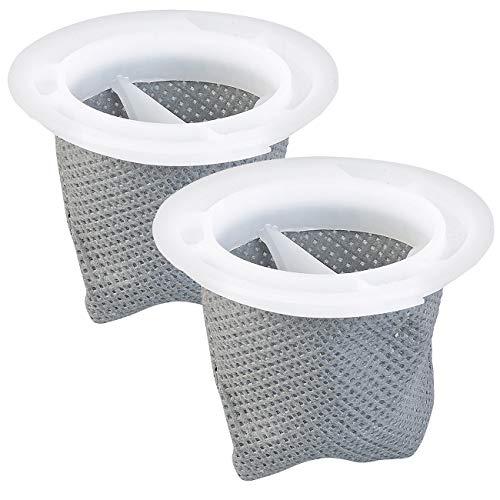 Sichler Haushaltsgeräte Zubehör zu Zyklon-Staubsauger Akkus: 2er-Set Ersatz-Filter für Akku-Zyklon-Staubsauger BHS-520.ak (Staubsauger mit Motorbürste)