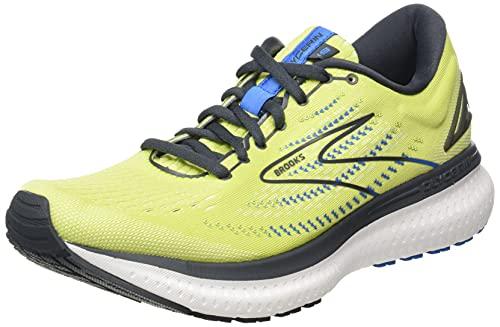 Brooks Glycerin 19, Zapatillas para Correr Hombre, Yellow Navy Blue, 45 EU