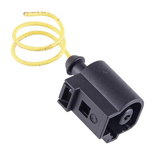 beler 1-Pin Stecker Öldrucksensor Stecker Buchse Kabelbaum Adapter