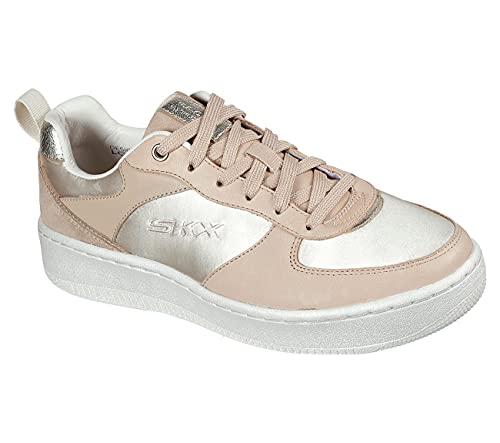 Skechers Sport Womens Sport Court 92 Honey DOLL - Zapatillas deportivas para mujer, color marrón, color Beige, talla 41 EU