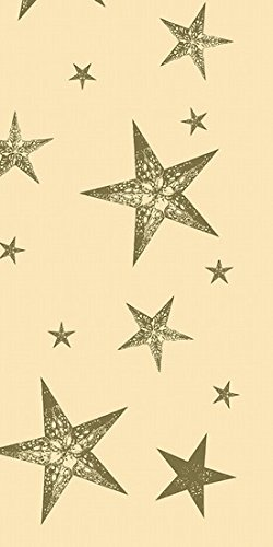 Duni tafelkleden Dunicel 84 x 84 cm My Star Cream