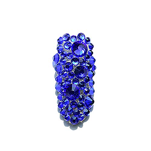 BANGSUN 300 Grains Nail Art Rhinestones Nail Gemstone Rhinestone Nail Jewelry Decoration Crystal Hot Blue