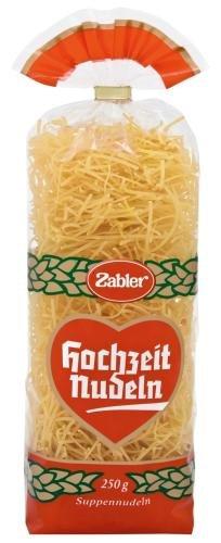 Zabler Suppennudeln, 15er Pack (15 x 250 g Beutel)