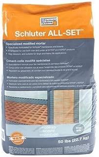 Schluter All-Set Grey 50 lbs Bag Modified Thin-Set Mortar