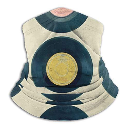 NA Kopfbedeckung Stirnband,Vinyl Records Gesichtsdekoration Stirnband, Sonnenschutz-Schweißband Für Motorradfischen Laufen,25X30Cm