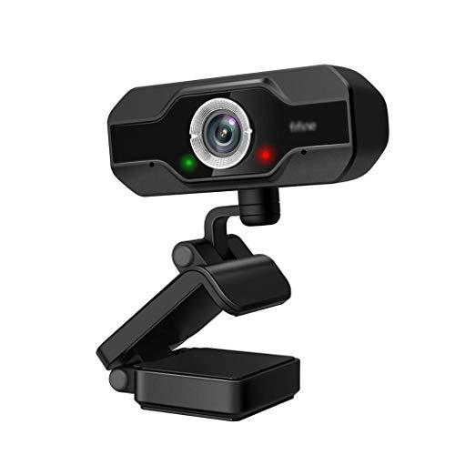 GFDFD 1080P Full HD PC Webcam para computadora de Escritorio y computadora portátil USB,Webcam de transmisión en Vivo con micrófono HD Video,para videollamadas