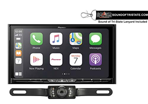 Best Bargain Pioneer AVIC-W8600NEX 7 Navigation DVD Receiver + License Plate Backup Camera + Sound ...