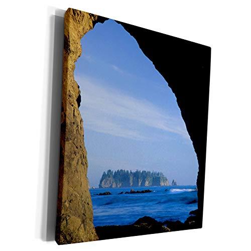 3dRose Danita Delimont - Beaches - Sea stack, Rialto Beach, Washington, USA - US48 JME0663 - John and Lisa Merrill - Museum Grade Canvas Wrap (cw_148006_1)