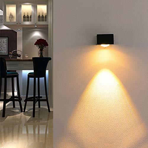 WUYUESUN Arriba y Abajo 3W 6W LED de Pared lámparas de Interior Luz de Pared AC85-265V de Aluminio for Habitación Sala Corredor decoración de la lámpara