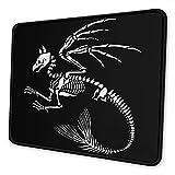 N\A Alfombrilla de ratón Skeleton of Gryphon, Base de Goma Antideslizante Bordes cosidos Alfombrillas de ratón para Juegos para Ordenadores Portátiles Accesorios de Escritorio de Oficina,