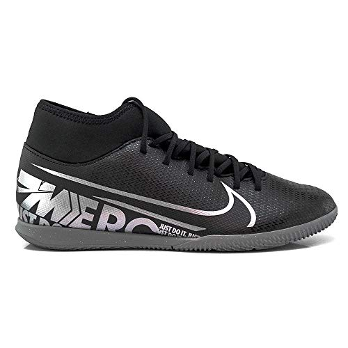 Nike Unisex-Erwachsene Superfly 7 Club Ic Fußballschuhe, Mehrfarbig (Black/MTLC Cool Grey/Cool Grey 1), 40.5 EU