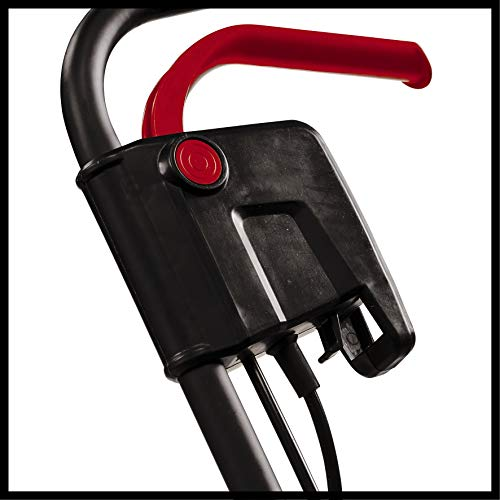 Einhell Scarificateur électrique GC-ES1231/1 (1.2kW, jusqu'à 300m², rouleau de scarification sur roulement à billes + 8 doubles lames, système de réglage de la profondeur de travail à 3 niveaux)