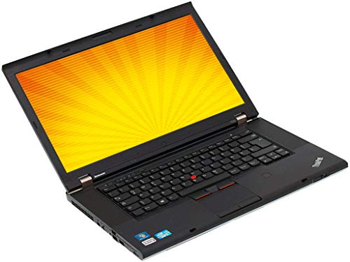 Lenovo ThinkPad T530 15.6in Laptop i5 3rd Gen 16GB RAM 480GB SSD Webcam Win 10 Pro (Renewed)