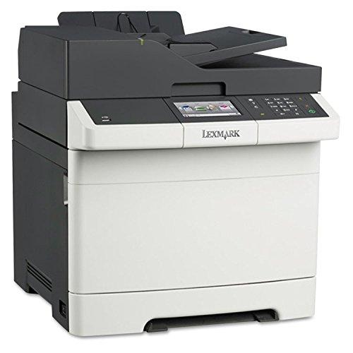 Lexmark 28D0550 CX410de Multifunction Color Laser Printer, Copy/Fax/Print/Scan