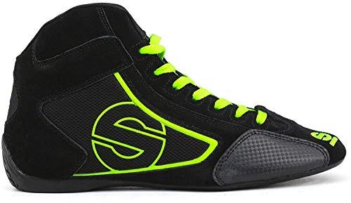 Sparco Zapatillas Abotinadas Negro/Verde EU 42