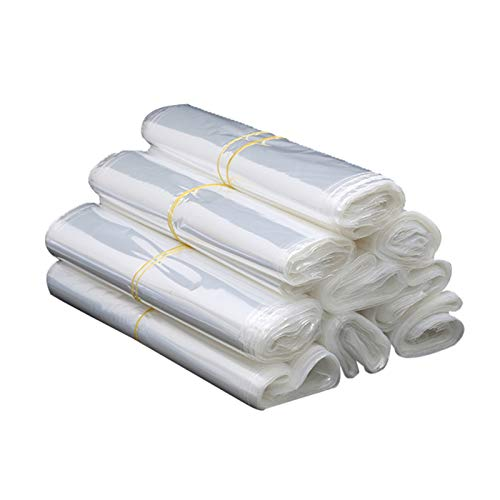 JIAYU Plástico Termoretractil Bolsas- Bolsa De Embalaje Termocontraíble 100 Piezas Bolsa De Plástico Transparente De Aire Caliente Impermeable POF (Color : 100 Tablets, Size : 25X35cm)