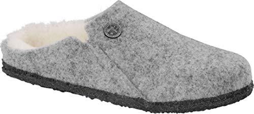 Birkenstock Zermatt Shearling Kids Slim Slipper 2020 Light Grey, Unisex adulto, 29