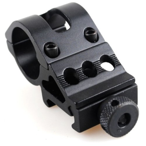Ade Advanced Optics Tactical Flashlight 30mm Offset Picatinny Mount for Surefire, Laser, Tactical Flashlights and All 30mm Mountable Accessories