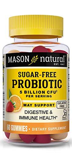 MASON - Sugar Free Probiotic Orange Strawberry - 60 Gummies