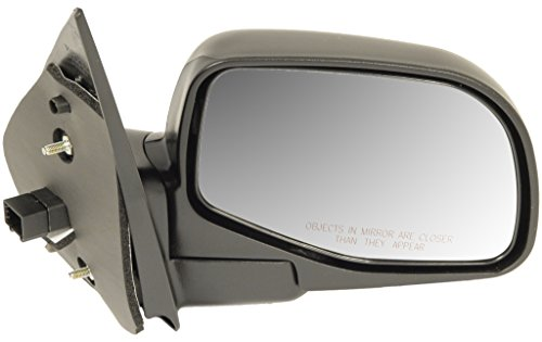 Dorman 955-045 Passenger Side Power Door Mirror - Folding for Select Ford / Mercury Models, Black