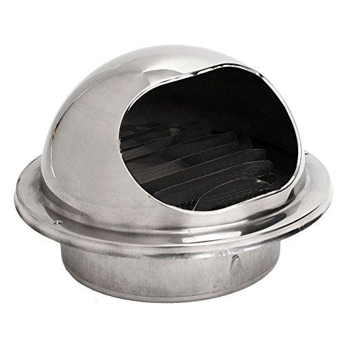 Senmubery Tubería de Ventilación de Ventilación de Aire del Extractor de Aire de Ventilación Canalización 100 Mm