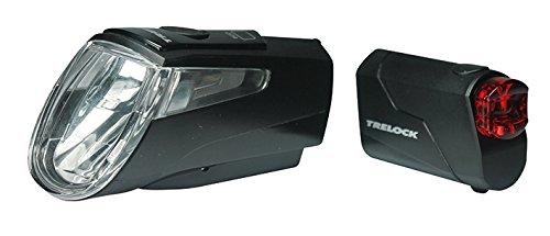 Trelock Batterie Beleuchtungsset LS 460 720 Schwarz Li-ion Set, Black, 10 x 5 x 3 cm