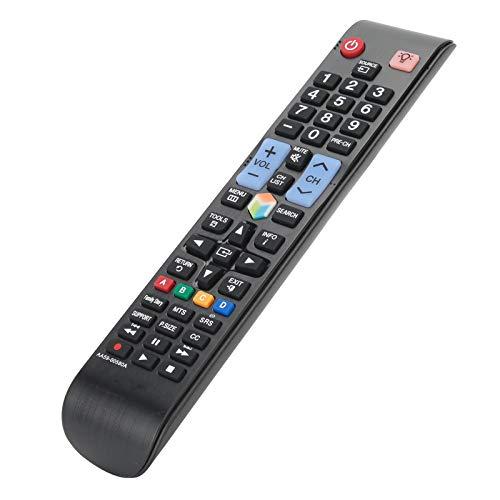Socobeta Controlador de televisión Inteligente y Ligero Multifuncional Control Remoto inalámbrico Universal de Ahorro de energía Durable Compatible con UN46ES8000F UN50EH5300F