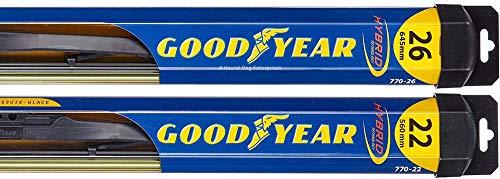 Hybrid - Windshield Wiper Blade Bundle - 3 Items: Driver & Passenger Blades & Reminder Sticker fits 2008-2015 Honda Civic (Sedan)
