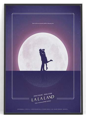 DPFRY Cuadro En Lienzo La La Land Movie Paint Wall Art Wall Prints Poster para La Decoración De La Sala De Estar Kx15Y 40X60Cm Sin Marco
