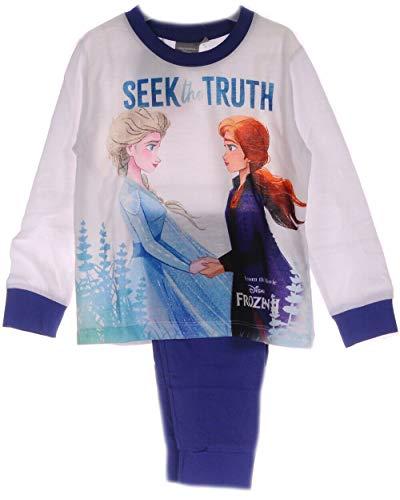 Schlafanzug Anna ELSA Frozen 2 Eiskönigin 110 116 122 128 140 Kinder Pyjama...
