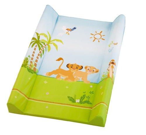 Rotho Babydesign Matelas à Langer Bord Luxe - Sérigraphie - Gamme Le Roi Lion - 70 x 49,5 x 6,5 cm