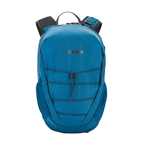 Pacsafe Venturesafe X12 Backpack, Anti-Diebstahl Rucksack, Diebstahlschutz Wanderrucksack, 12 Liter, Blau/Blue Steel