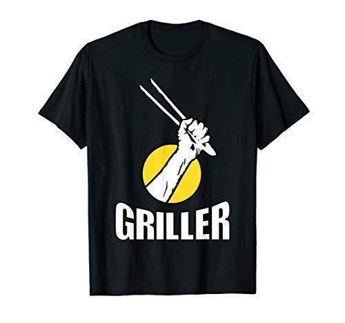 Cooler Griller Grillen Grill-Zange Herren Damen Fun-T-Shirt T-Shirt