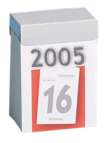 Knorr Prandell 301-0000 Tagesblock Nummer 1-1 Tag /1 Seite, 4 x 6 cm