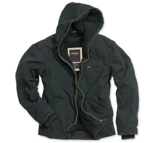 Surplus - Blouson Homme - Noir - Noir - FR : Small (Taille Fabricant : S) (Brand size: Herstellergröße: S)