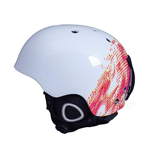 Fahrradhelm ZWRY Helm Integrierter Formhelm für Erwachsene Outdoor-Sport Schneehelm M Schokolade 8