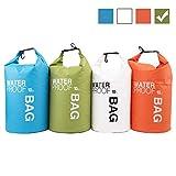 Uncle Paul Bolsas estancas - Verde 2 litros a la Deriva Impermeable Bolsa Seca para Paseo en Barco, Kayak, Pesca, Canotaje, natación, Camping, piragüismo