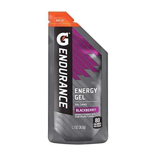 Gatorade Endurance Energy Gel, Blackberry, 21 Pack, 1.3 oz Pouches