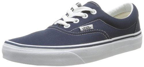 Vans Unisex-Erwachsene Era Classic Canvas Sneakers, Blau (Navy), 46 EU
