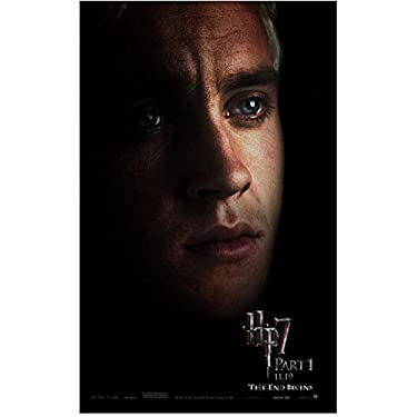 Harry Potter Deathly Hallows Part 1 Promo Close Up Tom Felton As Draco Malfoy 8 x 10 Inch Photo