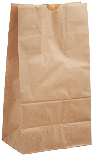 ヘイコー 紙袋 角底袋 No.4 クラフト 13x8x23.5cm 100枚