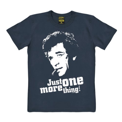 TRAKTOR Columbo T-Shirt - Trenchcoat Detektiv T-Shirt - Film T-Shirt - Original Marke, Größe XS
