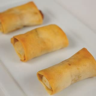 Philly Cheese Steak Spring Roll - Gourmet Frozen Appetizers (35 Piece Tray)